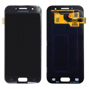 Original Samsung LCD + Digitizer Touch Screen for Samsung Galaxy A3 (2017) SM-A320F - Black (GH97-19732A)