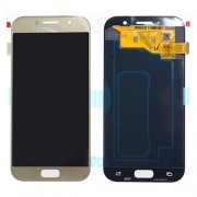 Original Samsung LCD + Digitizer Touch Screen for Samsung Galaxy A5 (2017) SM-A520F - Gold (GH97-19733B)
