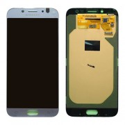 Original Samsung LCD and Digitizer Touch Screen for Samsung Galaxy J7 (2017) SM-J730 - Silver (GH97-20736B)