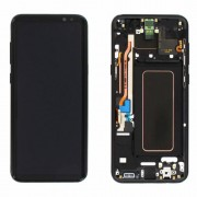 Original Samsung LCD and Digitizer Touch Screen for Samsung Galaxy S8+ G955 - Black (GH97-20470A)