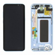 Original Samsung LCD and Digitizer Touch Screen for Samsung Galaxy S8+ G955 -Blue (GH97-20470D)