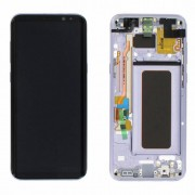 Original Samsung LCD and Digitizer Touch Screen for Samsung Galaxy S8+ G955 - Violet/Grey (GH97-20470C)