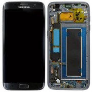 Original Samsung LCD and Digitizer Touch Screen for Samsung Galaxy S7 G935 - Black (GH97-18533A)