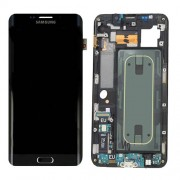 Original Samsung Lcd Screen and Digitizer for Samsung Galaxy S6 Edge Plus SM-G928F - Black (GH97-17819B)