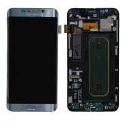 Original Samsung Lcd Screen and Digitizer for Samsung Galaxy S6 Edge Plus SM-G928F - Silver (GH97-17819D)
