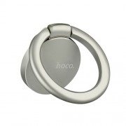 HOCO PH7 Μεταλλικό Δαχτυλίδι που Είναι Βάση Στήριξης και Βάση Κρατήματος για Κινητά και Tablets - Ασημί