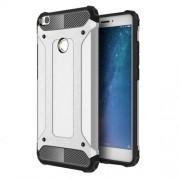 Armor Guard Plastic + TPU Hybrid Mobile Phone Cover for Xiaomi Mi Max 2 - Silver