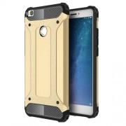 Armor Guard Plastic + TPU Hybrid Cover Case for Xiaomi Mi Max 2 - Gold