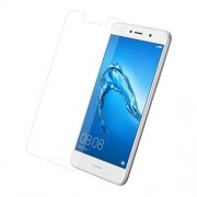 For Huawei Y7 Tempered Glass Screen Protector Guard Film 0.3mm (Arc Edge)