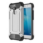 Tough Armor Υβριδική Θήκη Σιλικόνης TPU σε Συνδυαμό με Πλαστικό για Huawei Honor 7 Lite / 5c / GT3 - Ασημί