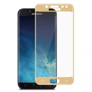 IMAK Complete Coverage Tempered Glass Protector Film for Samsung Galaxy J5 (2017) EU / Asia Version - Gold