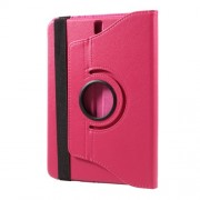 Litchi Texture Rotary Stand Leather Protection Case for Samsung Galaxy Tab S3 9.7inch T820 - Rose