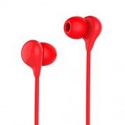 HOCO M13 Candy Sound Universal 3.5mm Wired In Ear Headset Support Hands-free Phone Calls - Red