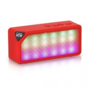 X3S Wireless Portable Mini Bluetooth Speaker TF Card with Mic - Red