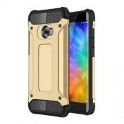 Tough Armor Υβριδική Θήκη Σιλικόνης TPU σε Συνδυαμό με Πλαστικό για Xiaomi Mi Note 2 - Χρυσαφί