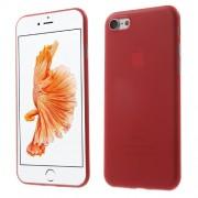 Σκληρή Θήκη Πολύ Λεπτή 0,3mm Ηιμιδιάφανη για iPhone 7 / 8- Κόκκινο