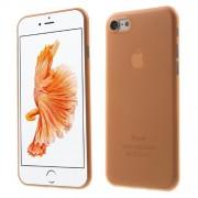 Σκληρή Θήκη Πολύ Λεπτή 0,3mm Ηιμιδιάφανη για iPhone 7 / 8 - Πορτοκαλί