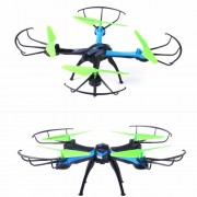 JJRC H98-3 2.4GHz 6-Axis Gyro RC Quadcopter Remote Control Drone with 0.3MP HD Camera - Blue