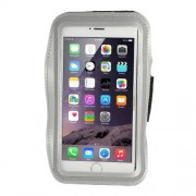 Running Sports Armband Pouch Case for iPhone 6 Plus / 6s Plus, Size: 160 x 85mm - Grey