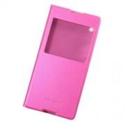 Δερμάτινη Θήκη Βιβλίο Smart Cover για Sony Xperia XA1 Ultra - Φούξια