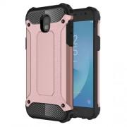 Tough Armor Υβριδική Θήκη Σιλικόνης TPU σε Συνδυαμό με Πλαστικό για Samsung Galaxy J5 (2017) Ευρωπαϊκή Έκδοση - Ροζέ Χρυσαφί
