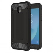 Armor Guard Plastic + TPU Hybrid Case for Samsung Galaxy J5 (2017) EU Version - Black