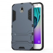 Cool Guard PC+TPU Hybrid Cover Case for Samsung Galaxy J7 (2017) EU Version - Dark Blue
