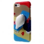 Θήκη Σιλικόνης TPU Σχέδιο 3D για iPhone 7 / 8 - Μοτίβο Παραλίας
