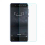 For Nokia 5 Mobile Tempered Glass Screen Protector Film 0.3mm (Arc Edge)