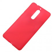Double-sided TPU Back Case for Nokia 5 - Red