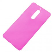 Double-sided TPU Case Shell for Nokia 5 - Rose