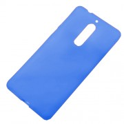 Double-sided TPU Mobile Phone Case for Nokia 5 - Blue