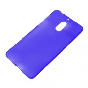 Matte Anti-fingerprint TPU Mobile Phone Cover for Nokia 6 - Blue