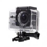 QUANZHI V3 2inch 4K Ultra HD 16MP WiFi 170-degree Wide Angle Waterproof Sports Camera - Silver
