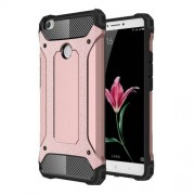 Armor PC TPU Phone Back Cover for Xiaomi Mi Max - Rose Gold