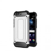 Tough Armor Υβριδική Θήκη Συνδυασμού Σιλικόνης και Πλαστικού για Huawei P10 Plus - Ασημί