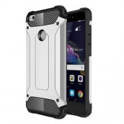 Armor Guard Mobile Case (Plastic + TPU) for Huawei P8 Lite (2017)/Honor 8 Lite - Silver
