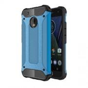 Tough Armor Υβριδική Θήκη Σιλικόνης TPU σε Συνδυαμό με Πλαστικό για Motorola Moto G5 Plus - Μπλε
