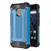 Tough Armor Υβριδική Θήκη Σιλικόνης TPU σε Συνδυαμό με Πλαστικό για Motorola Moto G5 - Μπλε
