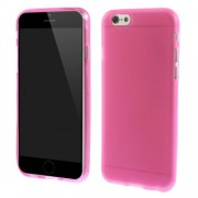 Θήκη Σιλικόνης TPU Ματ για iPhone 6s 6 - Φούξια