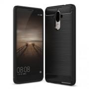 Θήκη Σιλικόνης TPU Carbon Fiber Brushed για Huawei Mate 9 - Μαύρο