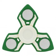 EDC Focusing Tri-spinner Hand Toy Stress Reducer Relieve Anxiety and Boredom - Green