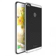 IPAKY Υβριδική Θήκη Συδυασμού Σιλικόνης TPU και Πλαστικού για Xiaomi Mi Max 2 - Ασημί/Μαύρο