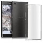 0.6mm Ultra Thin Soft TPU Mobile Phone Cover for Sony Xperia XA1 -  Grey