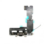 Charging Port Flex Cable Spare Part for iPhone 7 Plus - Black