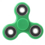 Tri Fidget Hand Spinner EDC Focus Toy for ADHD Autism - Green