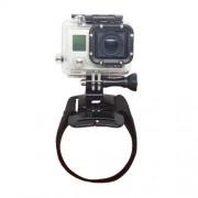 Περιβραχιόνιο που Στηρίζεται Κάμερα όπως Gopro Hero3+ / 3 / 2 / 1 και Άλλες με αυτές τις διαστάσεις - Μαύρο