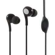 LANGSTON JD-91 In-ear Earphone with Mic for iPad iPhone Samsung - Black
