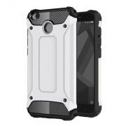 Tough Armor Υβριδική Θήκη Σιλικόνης TPU σε Συνδυαμό με Πλαστικό για Xiaomi Redmi 4X - Λευκό