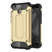 Armor Guard PC TPU Combo Case for Xiaomi Redmi 4X - Gold